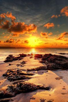 heaven-ly-mind:Sunset at BeachbyNC Wongon 500px