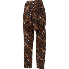 Pre-owned Isabel Marant Silk Harem ($153) ❤ liked on Polyvore featuring pants, multicolour, women clothing trousers, silk harem pants, white silk pants, white harem pants, white trousers and colorful pants
