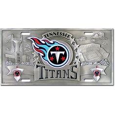 Titans Car Tag...toooo expensive, though!