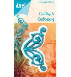 Joy!Crafts mallen 6002/0552 Hoek met gaatjes