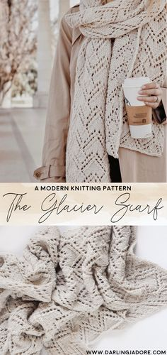 #knittedscarf #knitscarf #laceknit #laceknitscarf #knittingpattern #knittingpatterns #knitpatterns #darlingjadore #fallfashion #scarfknitpattern #scarfknittingpattern #lacescarf #easyknittingpattern #longscarf #fashionscarf #knitpattern #darlingjadore #darlingjdore #glacierscarf #knitpattern #laceknit #laceknitscarf #beginnerknit #easyknit