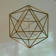 Solid Geometry, Sacred Geometry, Geometric Designs, Geometric Art, Geometric Patterns, Platonic Solid, Shape And Form, Color Theory, Hanging Lights