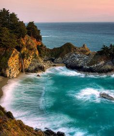 Julia Pfeiffer Burns State Park, Big Sur CA - McWay Falls