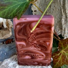 With Raw Dutch Cocoa and Raspberry, this Shea Butter Soap will tickle you pink!