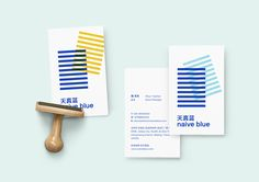 Naive Blue Visual Identity System