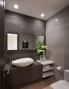 15 Awesome Contemporary Bathroom Design Ideas You Must Have (Recommended) – Badezimmer Ideen Bathroom Vanity Designs, Contemporary Bathroom Designs, Modern Bathroom Design, Bathroom Interior Design, Bathroom Ideas, Bathroom Organization, Interior Ideas, Bathroom Inspiration, Bathroom Mirrors