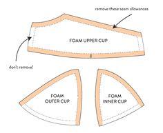 Cloth Habit | Making a Foam Cup Bra: Part 2
