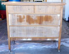 Home Decor: Painting an Old Dresser (from the thrift store)