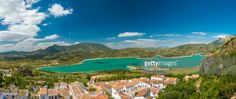The view from Zahara de la Sierra | Cadiz Province, Andalusia, Spain. | #stockphotos #gettyimages #print #travel