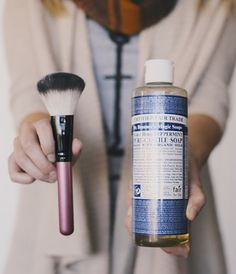 15 easy ways to clean makeup brushes