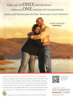 MD Anderson Cancer Center Ad - More Hospital Print Ads From My Bulletin Board