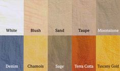 Tuscan Color Schemes   Moorestown NJ Painting Contractor - Venetian-Veneziano Plasters