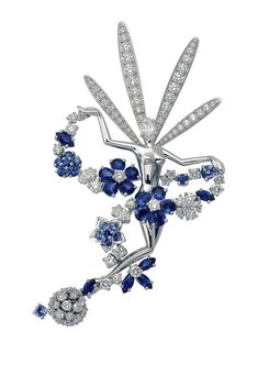 Van Cleef & Arpels - Folie des Prés Fairy clip, 2003, Midsummer Night's Dream collection