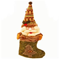 Beautiful knitted Santa stocking with a bell for your loved ones. http://www.tajonline.com/christmas-gifts/product/x1249/santa-stocking/?aff=pint2013/