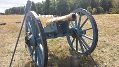 The Baroness, A British 6 lb field piece at Stop 8 on the battlefield during the 2013 Grand Encampment.