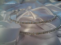 Handcrafted with Swarovski crystals the code of this item is: 1 - Crystal goddess Wedding Crowns, Our Wedding, Wedding Moments, Alternative Wedding, Celebrity Weddings, How Beautiful, Swarovski Crystals, Wedding Inspiration, Stone