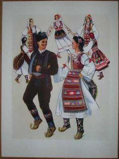"Serbia Folk Dances ""Kolo"" Sumadija"