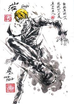 One Piece. Vinsmoke Sanji