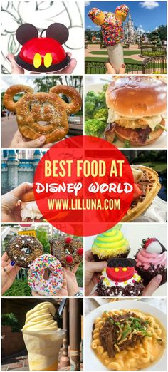 The BEST Restaurants + Places to Eat in Disney World A delicious collection of food, snacks and treats to try at the most Magical Place on Earth, including top 10 restaurants at each park. Disney Desserts, Snacks Disney, Disney Food, Disney Drinks, Disney Recipes, Disney Disney, Disney Stuff, Disney Magic, Walt Disney World
