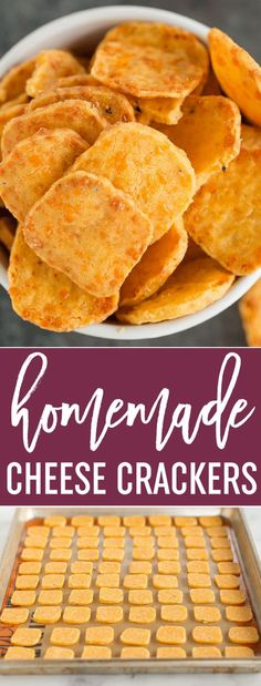 Cheese Crackers Spicy Southern Cheese Crackers - Easy homemade cheese crackers that are super buttery and have a spicy kick! via Southern Cheese Crackers - Easy homemade cheese crackers that are super buttery and have a spicy kick! Homemade Crackers, Homemade Cheese, Appetizer Recipes, Snack Recipes, Cooking Recipes, Keto Recipes, Easy Homemade Recipes, Quiche Recipes, Pastry Recipes