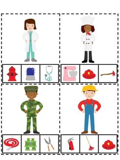 Montessori Activities, Preschool Worksheets, Preschool Activities, Preschool Family Theme, Community Helpers Preschool, School Posters, English Lessons, Life Skills, Special Education