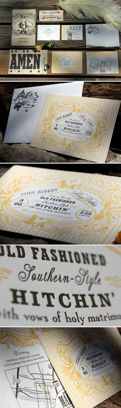 We absolutely love the illustrations and mixed typography used in this branding! What do you think? Stationery Paper, Stationery Design, Invitation Design, Invite, Print Layout, Layout Design, Print Design, Graphic Design, Corporate Stationary