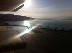 View from my apartment... Amazing! San Stefanos, Greece.