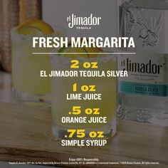 Margs made with el Jimador are margs made to be shared. So grab some limes, grab some friends, and enjoy an el Jimador Fresh Margarita. Party Food And Drinks, Fun Drinks, Cold Drinks, Alcoholic Drinks, Wine Cocktails, Cocktail Drinks, Tequila, Margarita Bebidas, Happy Drink