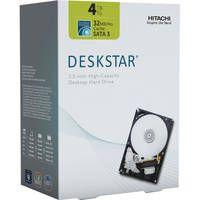 "HGST 4TB Deskstar Coolspin 3.5"" SATA III Internal Desktop Hard Drive Kit"