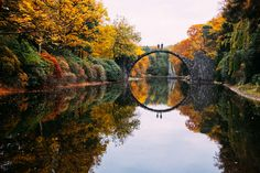 A must-see when you travel to Germany: the devil's bridge in Saxony.