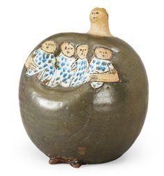 LISA LARSON, skulptur, Gustavsberg sannolikt 1950-tal.. - Kevään Moderna-huutokauppa Tukholmassa 566 – Bukowskis