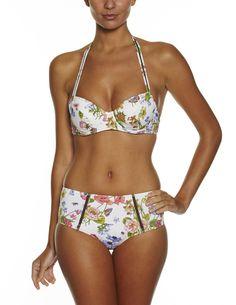 Floral Retro Bikini