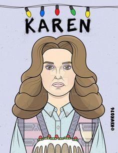 Karen la amargada