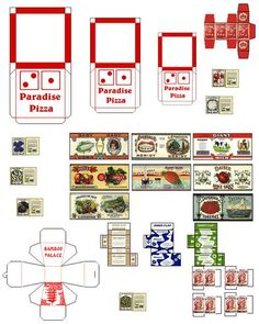 Doll Food Printables 5 best images of <b>doll food printables</b> - baby <b>doll food</b> ...