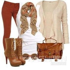 Casual Fall Outfit Combination - World Casual Fall Outfits, Fall Winter Outfits, Autumn Winter Fashion, Cute Outfits, Winter Gear, Fashion Fall, Fashion Outfits, Womens Fashion, Fashion Trends