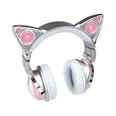 Limited Edition Ariana Grande Wireless Bluetooth Cat Ear Headphones (475 BRL) ❤ liked on Polyvore featuring hats