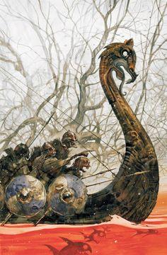 The Viking Minuteman Art Viking, Viking Dragon, Viking Ship, Viking Warrior, Viking Runes, Odin Thor, Viking Images, Viking Culture, Norse Tattoo