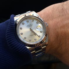 Say it with diamonds!!   The Role Datejust II, now in stock