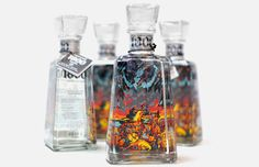 1800 Tequila Limited Edition Bottle Designed By I Love Dust