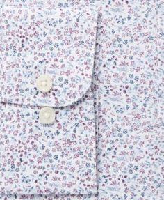 Bar Iii Men's Slim-Fit Stretch Easy-Care Burgundy White Garden Floral Print Dress Shirt, Created for Macy's - Burgundy 17-17 1/2 34-35