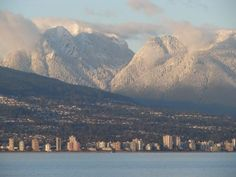 West Vancouver from Vancouver's West Side near #SpanishBanks