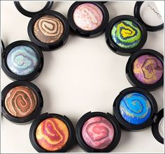MAC Heavenly Creatures Collection - Mineralize Eyeshadows