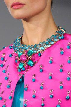 Spring 2013 Runway Accessories – Spring 2013 Fashion Week Accessories - ELLE  Oscar de la Renta