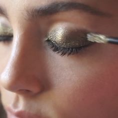 The Stila Shimmer and Glow Liquid Eye Shadows create a full makeup look in one quick and easy swipe.
