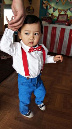 Dr Seuss birthday boy outfit