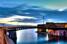 Ponte Girevole. Taranto: the Spartan City