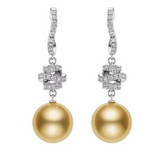 What is on your #wishlist this #Christmas? Would these 18K White Gold with Golden South Sea Pearl and Diamonds earrings make it there? May the #golden South Sea pearls from  @official_mikimoto #legendary jeweller #Mikimoto bring you the #glamour you need for endless #parties and #courage to face #challenges in the #newyear  #southsea #hongkong #magazine #jewelry #jewel #giftidea #festive #glam #party #luxurious #timeless #jewelleryart #diamonds #pearls #goldenpearl #jewelrygram #fullness…