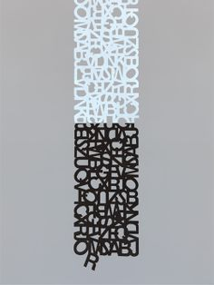 The Hip Subscription: Helvetica Scarf