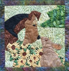 A gentle Airedale! from the 2012 ADT Rescue Fundraiser Quilt www.airedalerescue.net/2012quilt/quiltpage4.htm#
