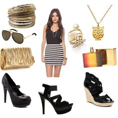 Diggin the Look.   P.S. any of those shoes with this look equals AWESOME.  created by alicia-ruby on Polyvore